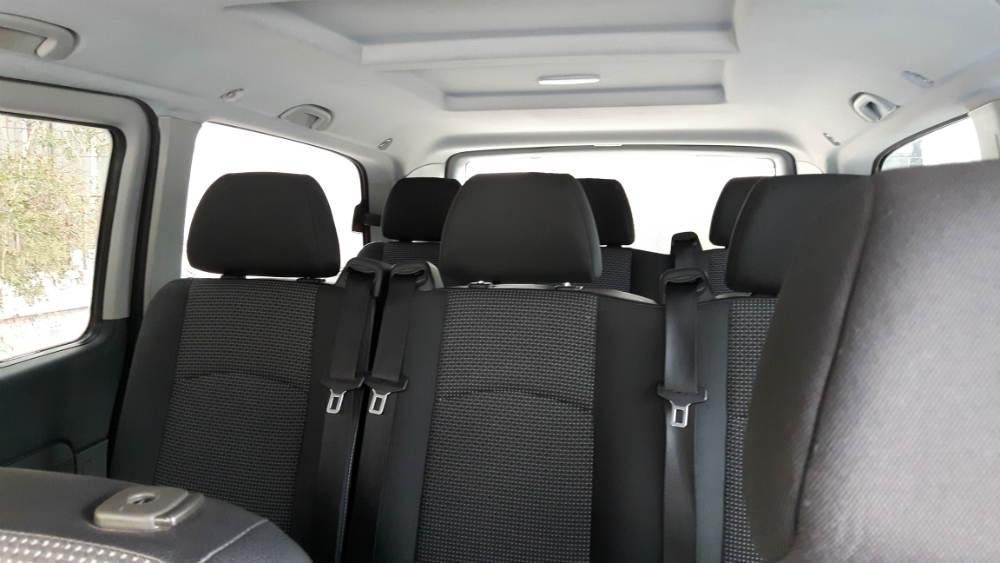 taxi van athens ride