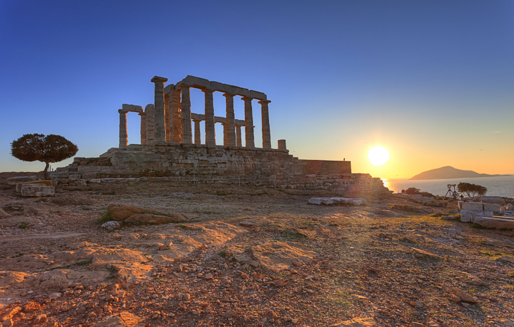 Poseidon Temple at Cape Sounion