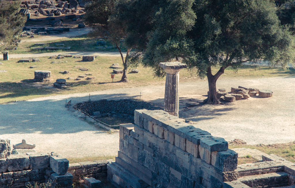 Olympia, site of ancient Greek Olympic Games